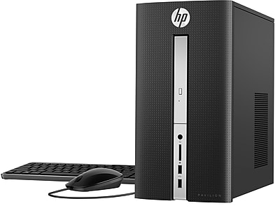 HP Pavilion 570-p026 Desktop (Intel Core i5, 1TB HDD, 12GB RAM, Windows 10, Intel HD 630 Graphics)