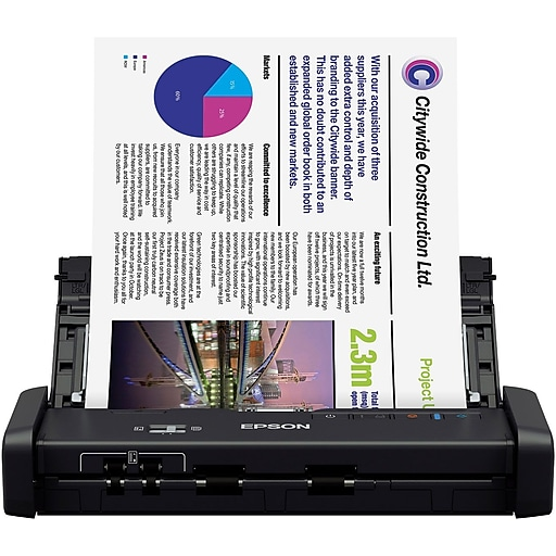Epson workforce es 200 portable duplex document scanner with adf httpsstaples 3ps7is reheart Choice Image
