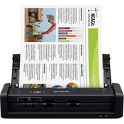 Epson WorkForce® ES-300W Wireless Portable Duplex Document Scanner with ADF