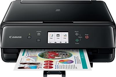 Canon® PIXMA® TS6020 Wireless Multifunction Color Inkjet Printer Black (1368C002)