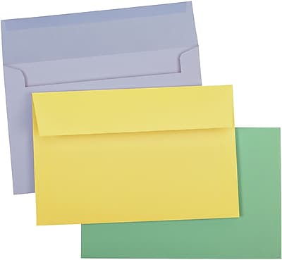 Greeting Card Envelope, Pastel 1 Assorted