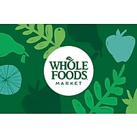 $100 of Whole Foods Market Gift Card