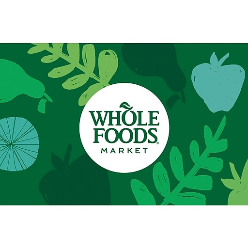 Whole Foods Market Gift Card $200 (Email Delivery)