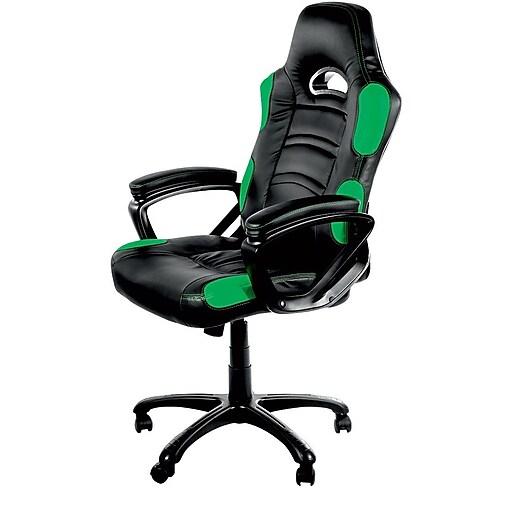 Arozzi Enzo Basic Gaming Chair - Green