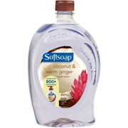 Softsoap Liquid Hand Soap, Coconut & Warm Ginger, 56 Oz. Refill