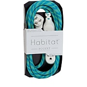 360 Electrical Habitat Braided Extension Cord (Accent)(8' - Mint Julep)