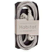360 Electrical HabitatTM Braided Extension Cord (Harmony)(8' - French Grey)