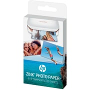 "HP ZINK 2"" x 3"" Sticky-back Photo Paper, 20 Sheet Pack"