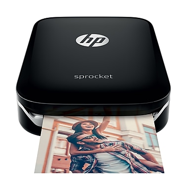 HP - Imprimante photo Sprocket, noir