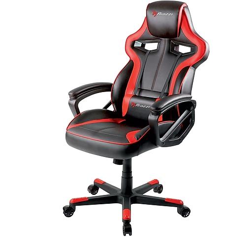 Arozzi Milano Enhanced Gaming Chair - Red