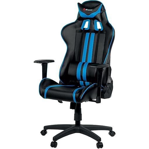 Arozzi Mezzo Advanced Gaming Chair - Blue