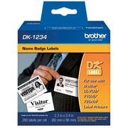 BROTHER DK1234 NAME BADGE