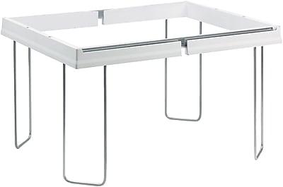 Smead Heavy-duty Adjustable Hanging Folder Frame - Hanging Folder Capacity - Letter Size Supprted - 1/Box - White