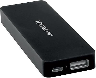Xtreme 4000mAh Skinny Battery Bank Black