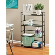 Flipshelf 4-shelf wide unit
