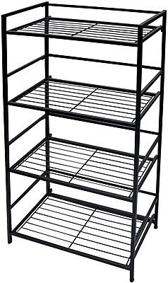 Flipshelf 4-shelf wide unit