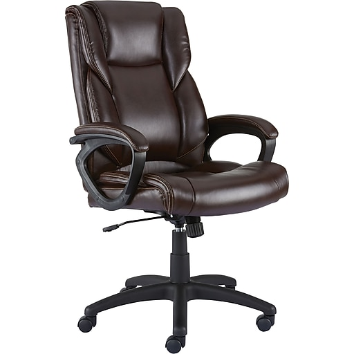 Staples Kelburne Luxura Faux Leather Computer and Desk Chair