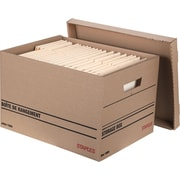 Boîtes de rangement, recyclées à 100 %, paq./8