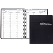 "2017-2018, House of Doolittle, Academic Weekly Planner, 8.5"" x 11"", Vertical, Black, (2572-02  17)"
