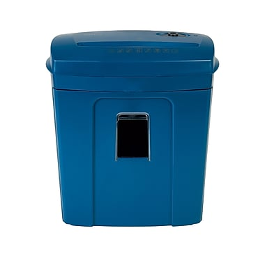 Staples 8 -Sheet Cross-Cut Shredder, Blue