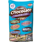 Mars® Chocolate Assorted Miniatures, 40 oz. Bag, 2/Bundle