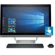 "HP 27"" All-In-One 27-a230, Intel® Core™ i5-7400T, 12 GB DDR4-2133 SDRAM, Win 10 Home"