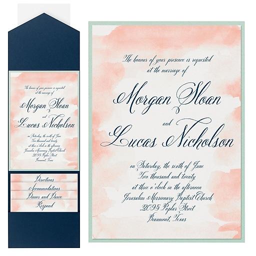 Printing Wedding Invitations At Staples: Premium Wedding Invitations And Stationery