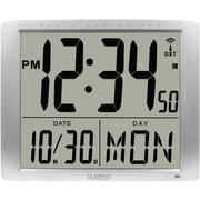 La Crosse Technology Atomic Extra-Large Digital Wall Clock with 7 Inch Time (BBB87269)