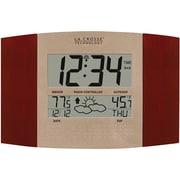 La Crosse Technology Digital Atomic Clock with Weather Forecast (WS-8157U-CH-IT)