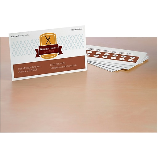 Avery 5911 laser business cards white 2 x 3 12 2500pack httpsstaples 3ps7is colourmoves
