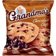 Grandma's® Homestyle Chocolate Chip Cookies, 2.5 oz. Bags, 60 Bags/Box