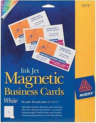 Avery®, Inkjet Magnetic Business Cards