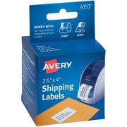 "Avery(R) Shipping Labels for Seiko(R) Printers 04153, 2-1/8"" x 4"", Roll of 140"