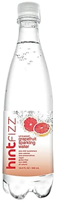 Hint Fizz Grapefruit Infused Sparkling Water, 16.9 Oz., 12 Pack