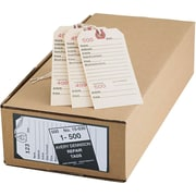 """Avery® Numbered Repair Tags, 5 1/4"""" x 2 5/8"""""""