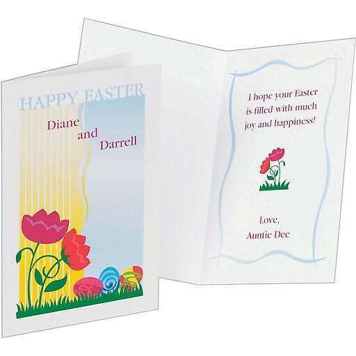 Avery inkjet half fold greeting cards white matte 5 12 x 8 12 httpsstaples 3ps7is images for avery inkjet half fold greeting cards m4hsunfo