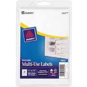 "Avery® 5422 Print-or-Write Multiuse ID Labels, 1/2""H x 1-3/4""L, 840/Pack"