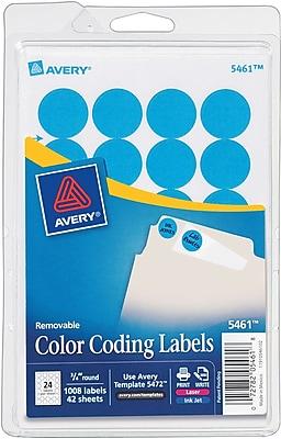 Avery® 5461 Round 3/4