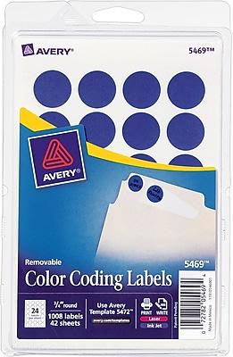 Avery® 5469 Round 3/4