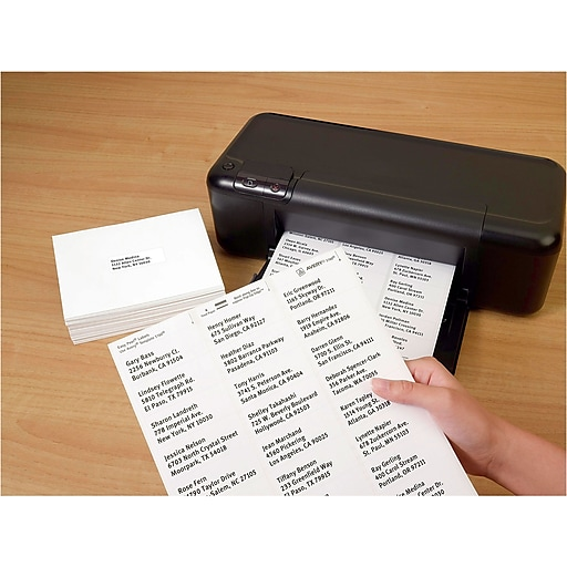 staples white mailing labels template - office supplies technology ink much more staples