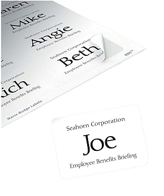 8395 name badges