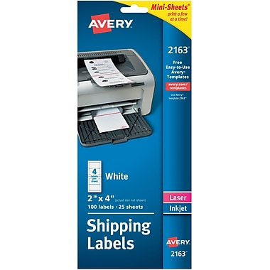 Small Avery Labels 100 Per Sheet