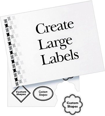 avery 8465 white inkjet full sheet shipping labels with trueblock Promotional Model Resume Example s staples 3p s7 is