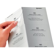 """Avery® 5664 Clear Laser Shipping Labels with Easy Peel®, 3-1/3"""" X 4"""", 300/Box"""