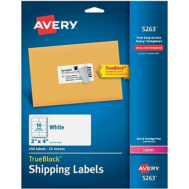 shipping labels printable labels staples
