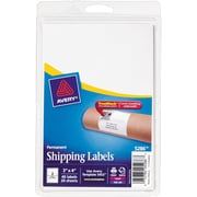 """Avery® 5286 White Laser/Inkjet Shipping Labels with TrueBlock, 3"""" x 4"""", 40/Pack"""
