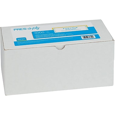 Avery® 30720 Pres-A-Ply® Pin-Fed Computer Labels, 3-1/2