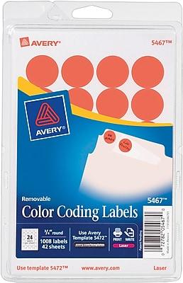 Avery® 5467 Round 3/4