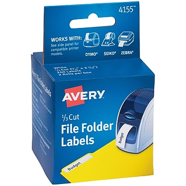 Avery(R) File Folder Labels, 9/16