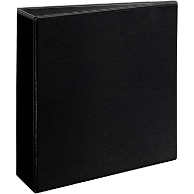 "avery 3"" heavy-duty view binder with one touch™ ezd rings, black, Presentation templates"